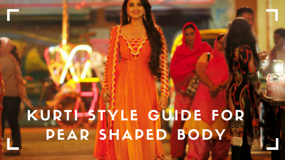 Best Kurti Style & Tips for Pear Shaped Body — Her Kurti Shop