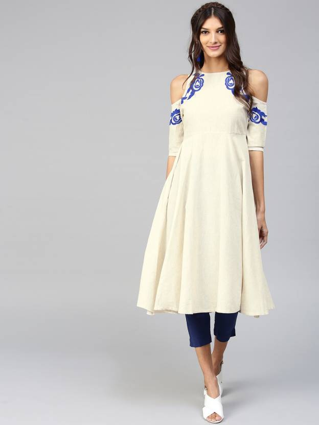 cold shoulder kurtis-1
