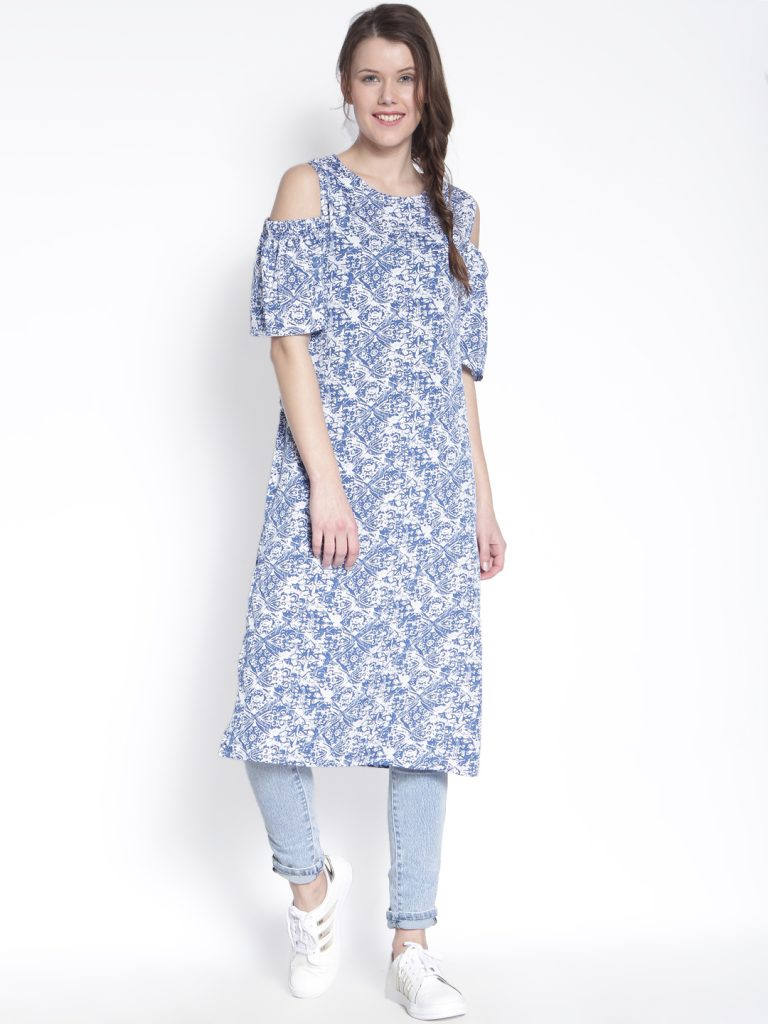 cold shoulder kurtis-5