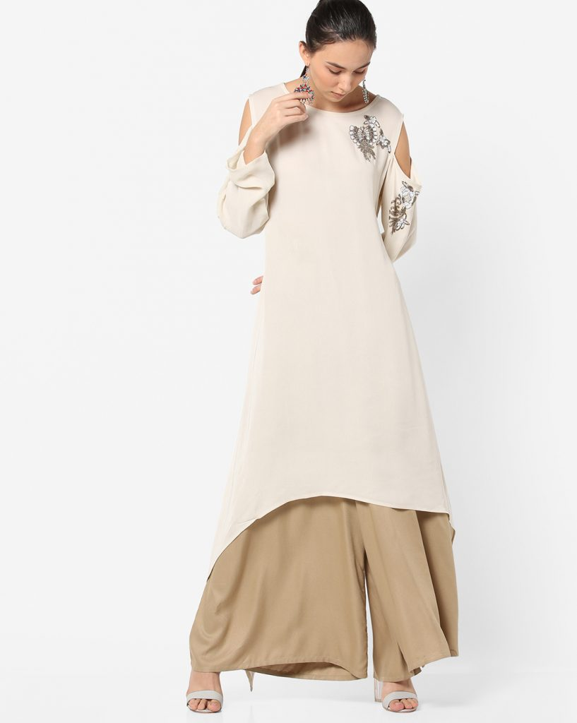 cold shoulder kurtis-6