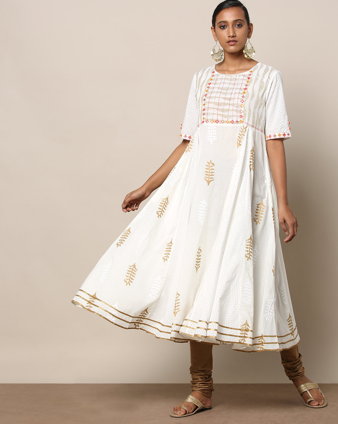 white-anarkali-kurta