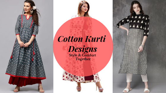5445658f190394 Types of Latest Cotton Kurtas   Kurtis Designs 2019 — Her Kurti Shop