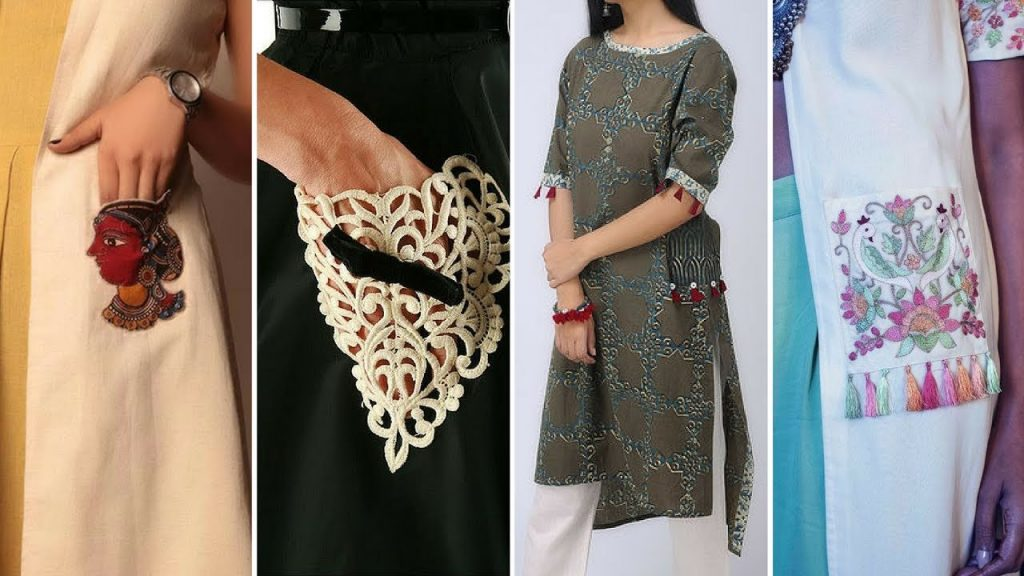 pocket kurti designs