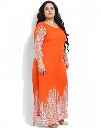 plus size kurtis Long