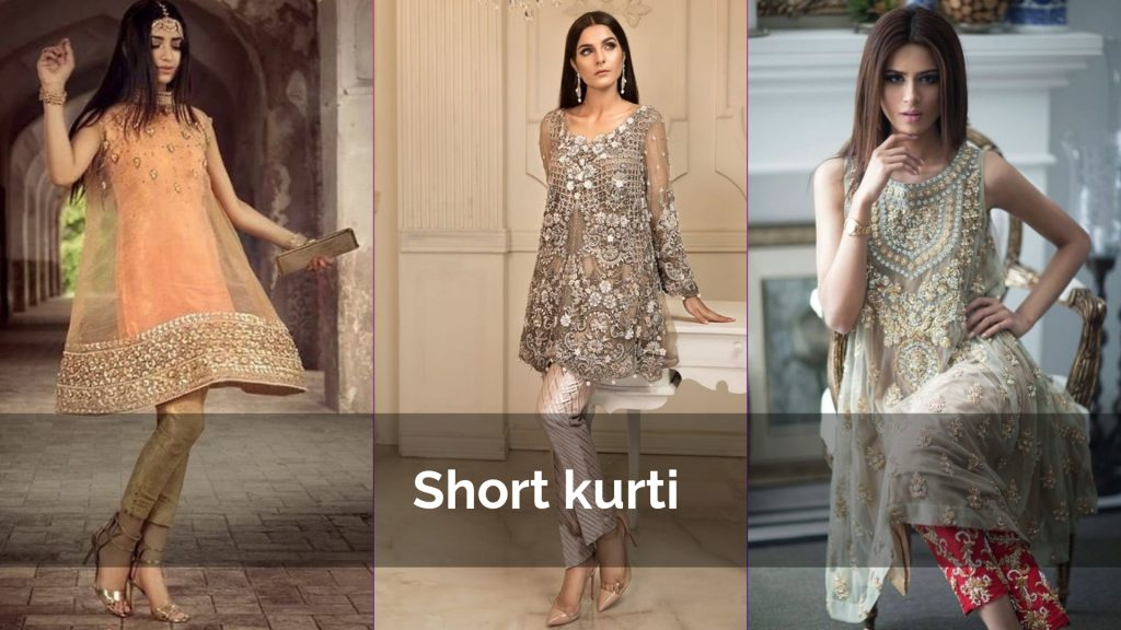 Latest Party wear Short Kurtis Designs 2019