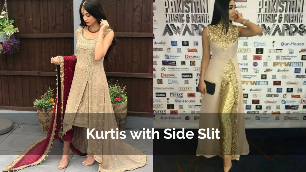 Party Special Kurtis designs with Side Slit or Front slit