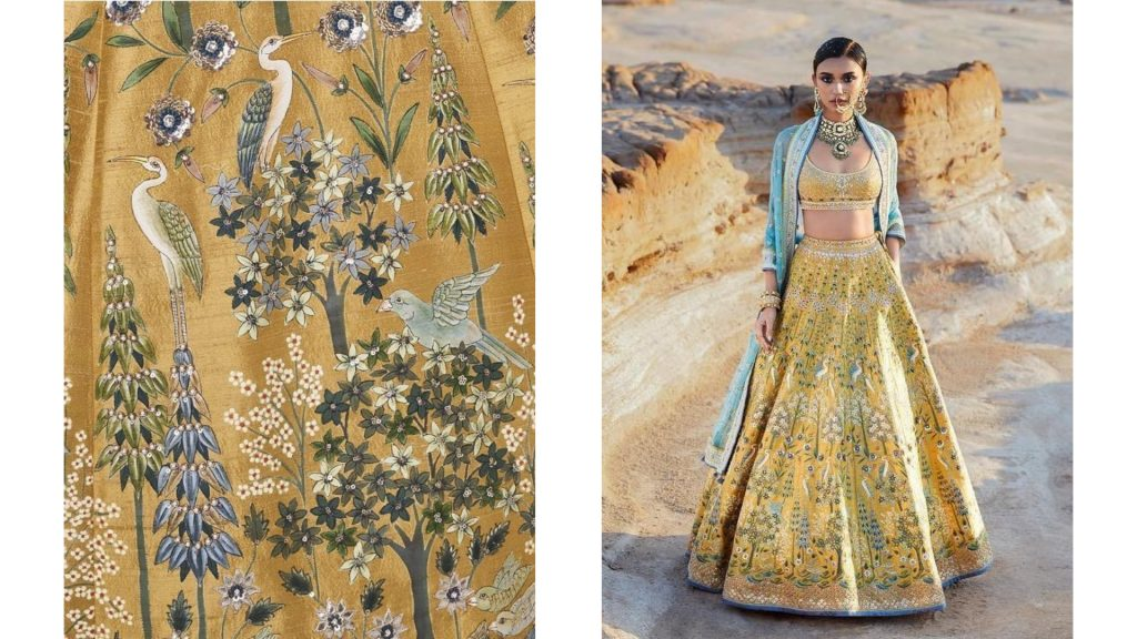 Pichhwai Bridal Lehenga Collection